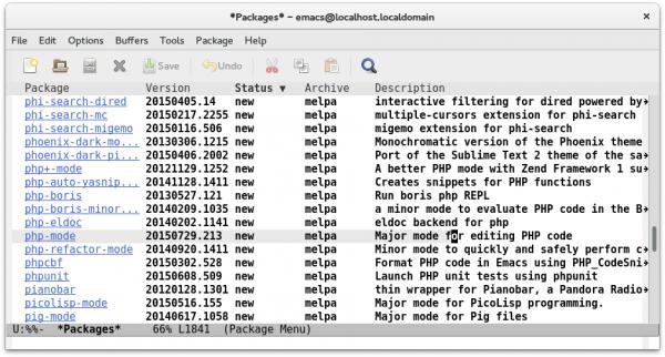 MELPA stellt unzählige Erweiterungspakete für den Editor Emacs zur Verfügung