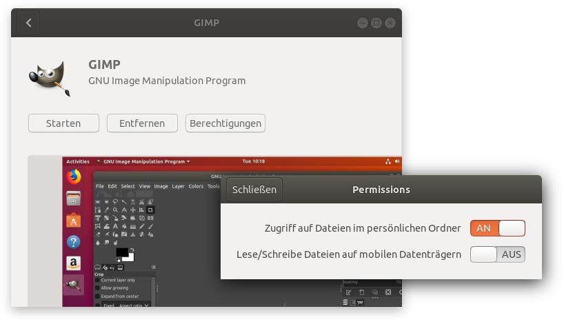 Gimp 2 10 unter Ubuntu 18 04 installieren | kofler info