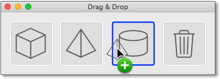 Drag&Drop-Beispielprogramm