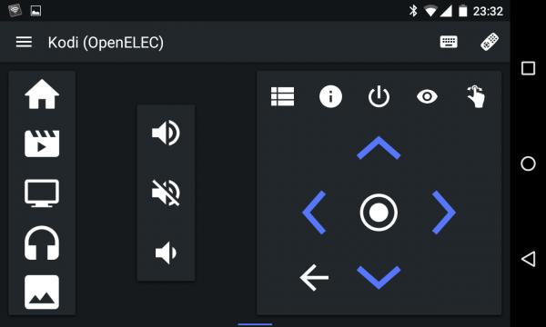 Kodi-Fernbedienung durch die Android-App Yatse