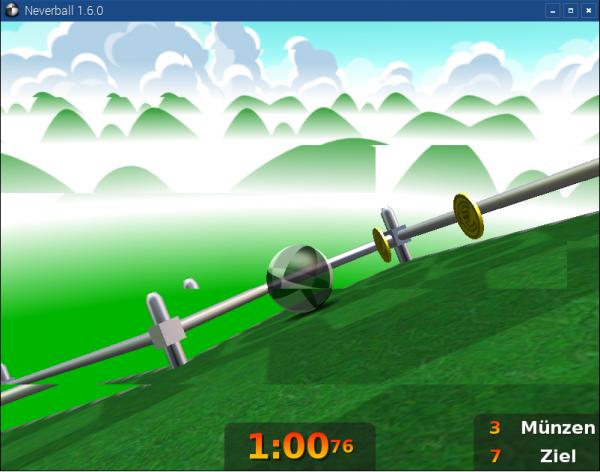 Simples 3D-Spiel, läuft unter Raspbian mit 3D-Hardware-Unterstützung