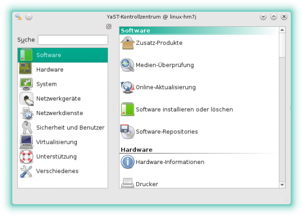 YaST in openSUSE 13.2