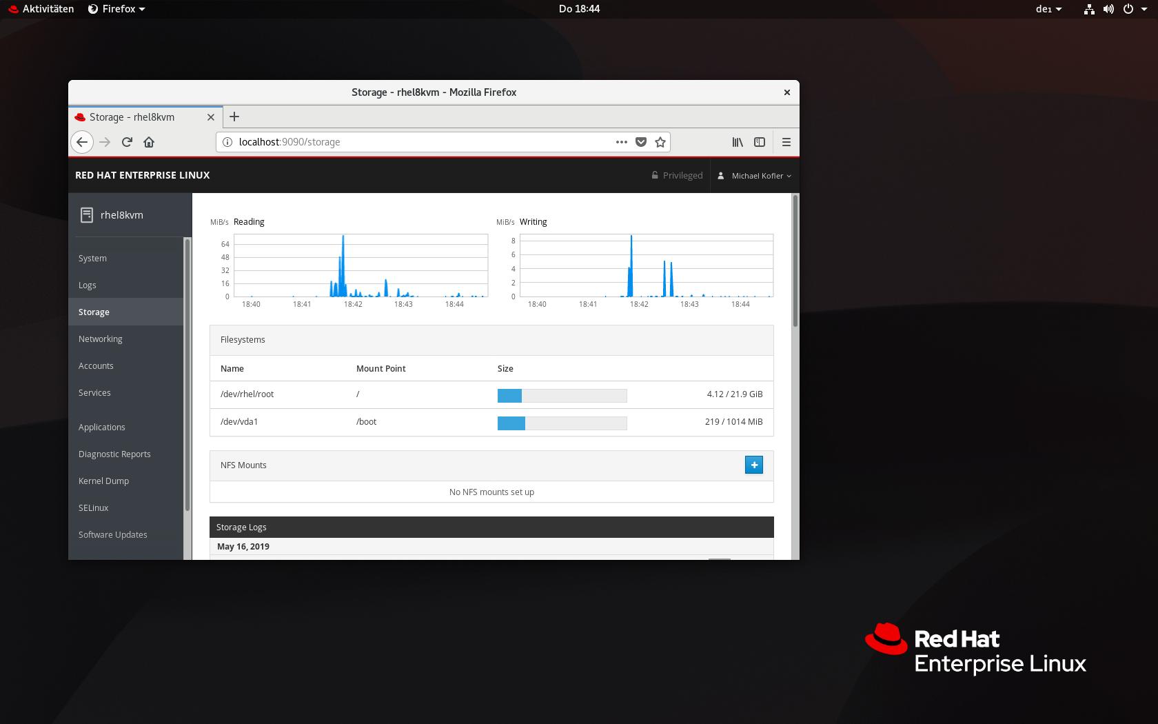 Red Hat Enterprise Linux 8 | kofler info