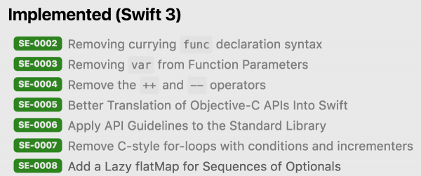 swift3-implementation