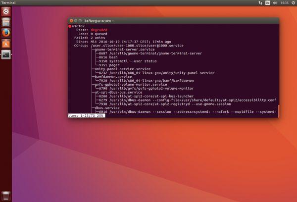 Der Ubuntu-Desktop ist im Vergleich zu Ubuntu 16.04 unverändert geblieben.