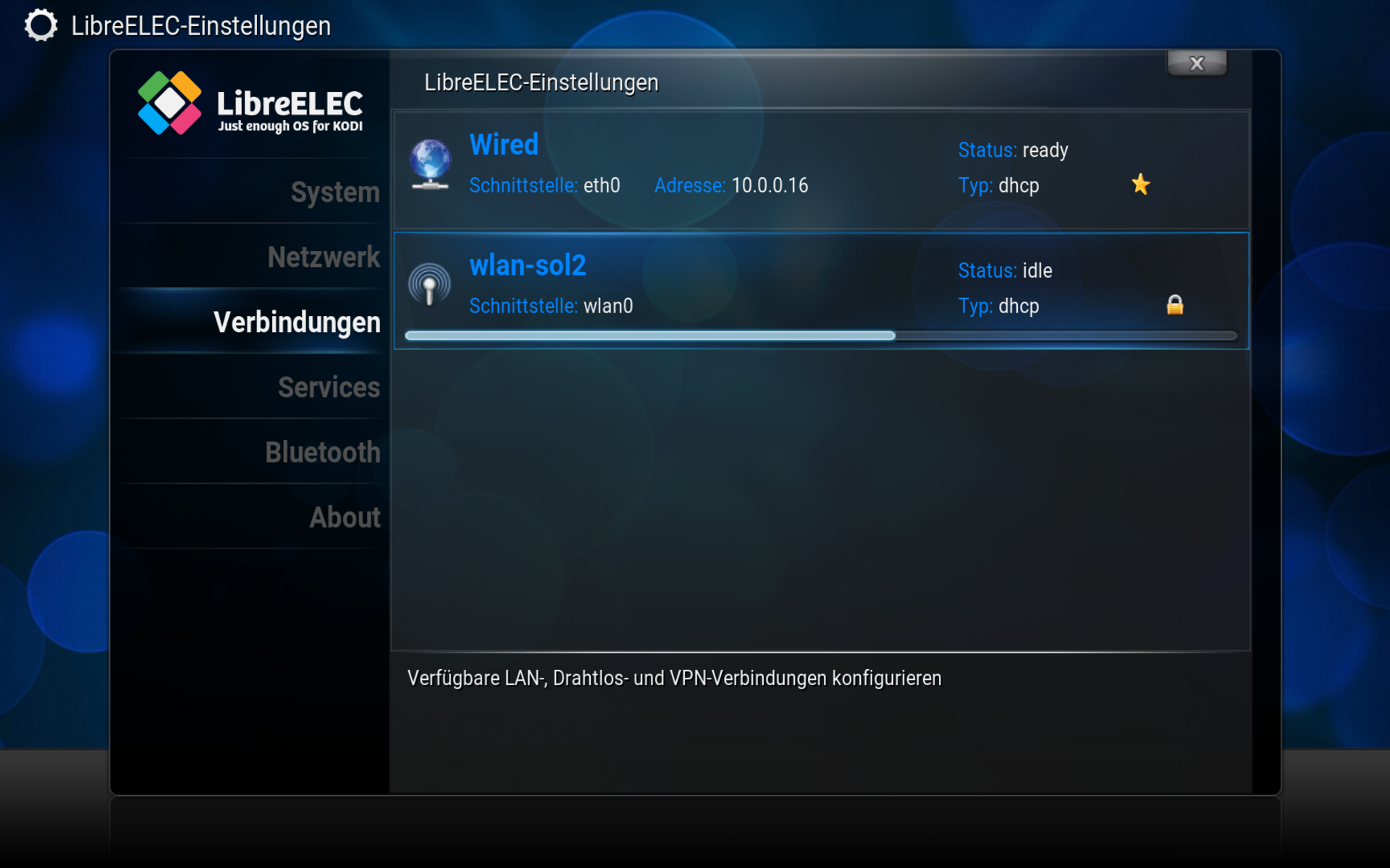 how to change openelec to libreelec